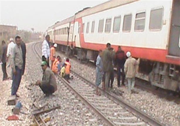 السكة الحديد تعلن الانتهاء من إصلاح منطقة حادث قطار أسوان