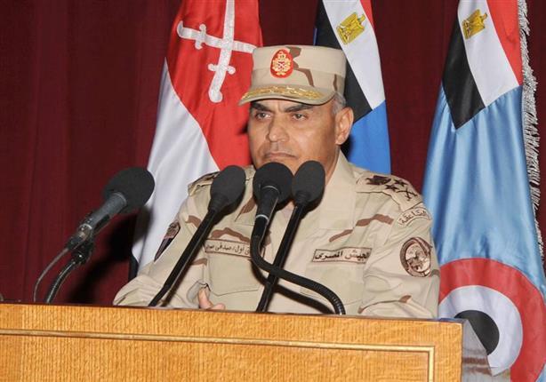 وزير الدفاع يبحث مع وفد أمريكي دعم التعاون المشترك بين البلدين