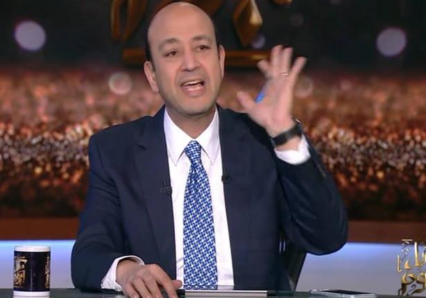 عمرو أديب يكشف تفاصيل مكالمة شيرين له بعد أزمتها مع عمرو دياب