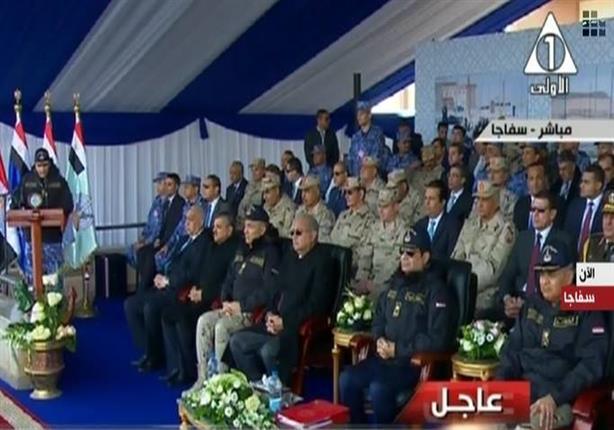 السيسي يفتتح ميناء سفاجا البحري بعد تطويره