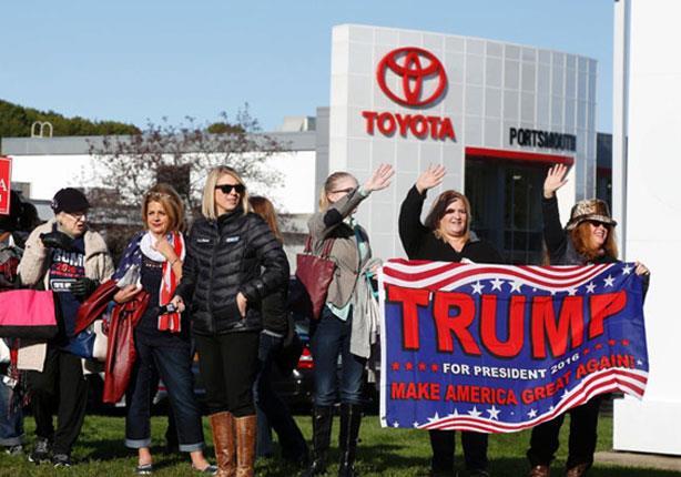ترامب تعليقاً على إقامة تويوتا لمصنع في المكسيك: على جثتي!