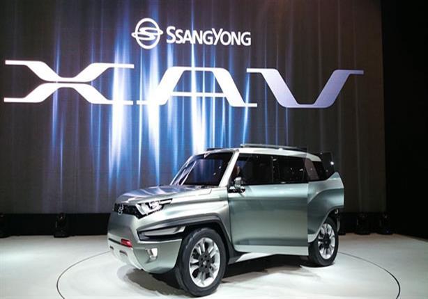 بالصور - سانج يونج الكورية تطور نوافذ سيارتها لتعمل باللمس