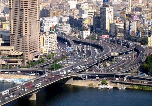سيولة مرورية بكافة المحاور والطرق الرئيسية في القاهرة