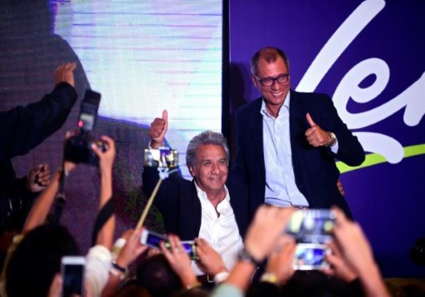 تقدم لينين مورينو بانتخابات رئاسة الإكوادور