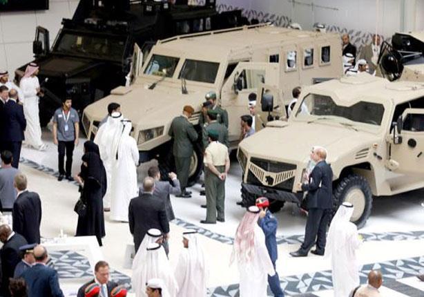 أوكرانيا تكشف عن سيارة عسكرية بدون سائق في معرض أبو ظبي