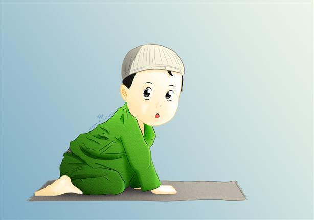 طريقة ذكية جدًا لتعويد الأطفال على الصلاة