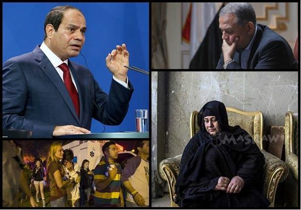 حدث ليلًا.. قرار بشأن مسيحيي سيناء والسادات يكشف عن ثروته وحادثين