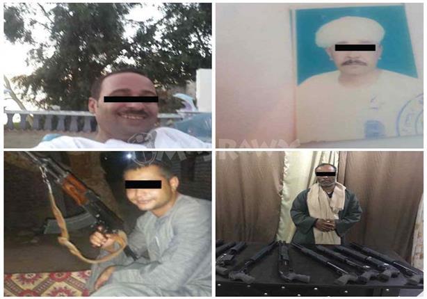 """بالصور.. تقرير أمني سري عن """"عصابة الـ25"""": هؤلاء أخطر مطاريد الصعيد"""