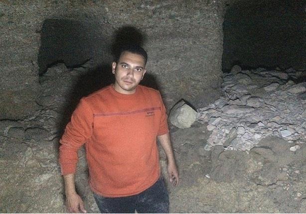 بالصور.. العثور على مقبرة أثرية داخل فتحة بالجبل بجنوب الأقصر