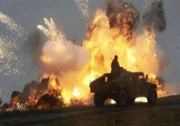 إصابة 3 مجندين في انفجار استهدف مدرعة برفح