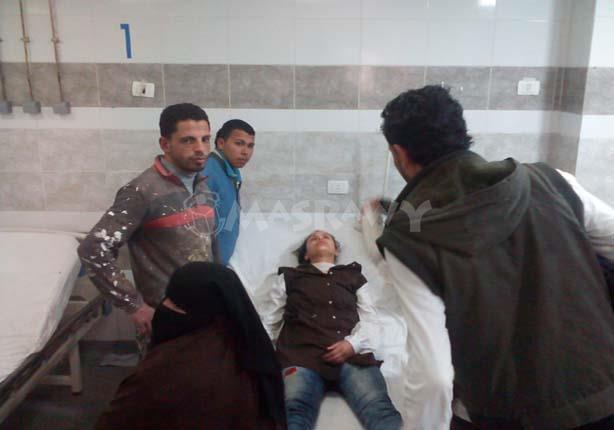 """بالصور.. إصابة 13 تلميذًا في كفر الشيخ بـ""""صدمة عصبية"""""""