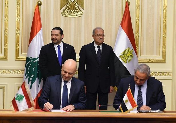 4 اتفاقيات بين مصر ولبنان في مجال المعارض والأسواق الدولية