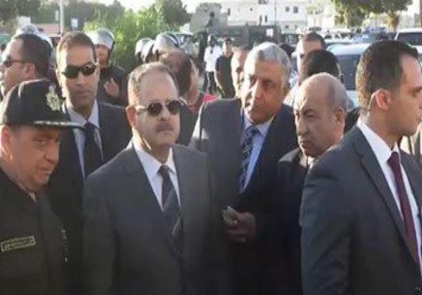 وزير الداخلية يتقدم الجنازة العسكرية لشهيد الواجب بسيناء