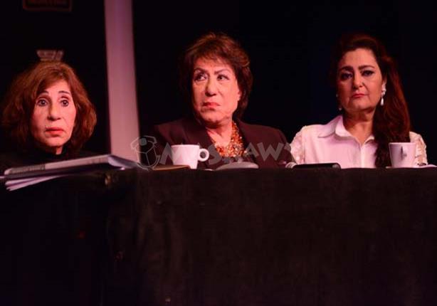 بالصور - نجوم الفن في مؤتمر مهرجان شرم الشيخ للمسرح