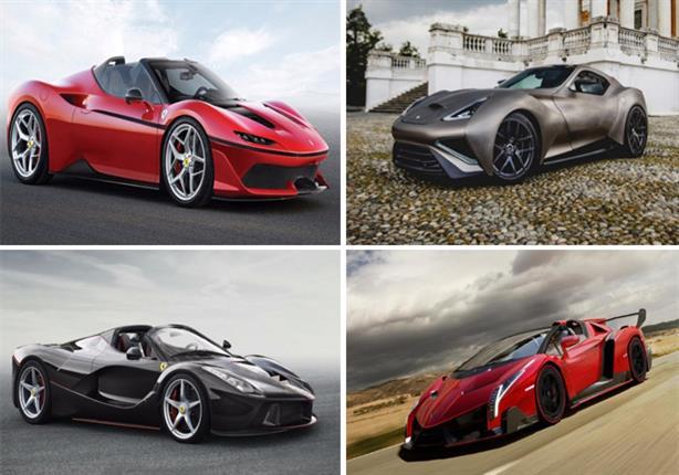أغلى 10 سيارات بالعالم في 2017.. إحداها عربية المنشأ - صور