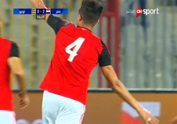 """بالفيديو- """"الشيخ"""" يسجل في الظهور الأول بقميص الفراعنة"""