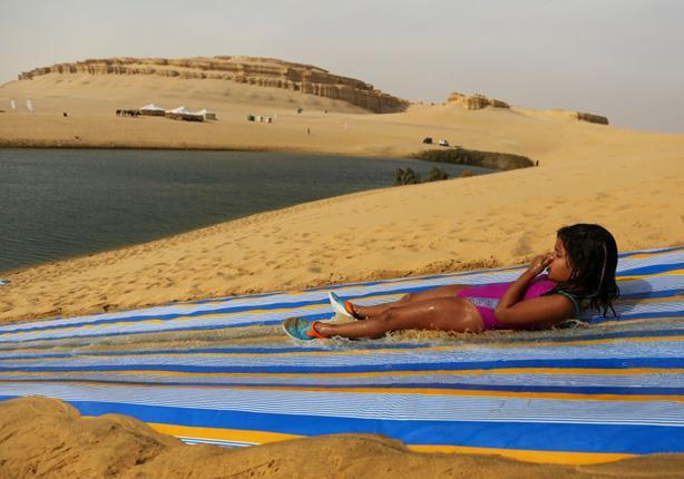 مغامرة جديدة للاستمتاع بصحراء الفيوم.. مصراوي يحاور صاحبها- صور وفيديو