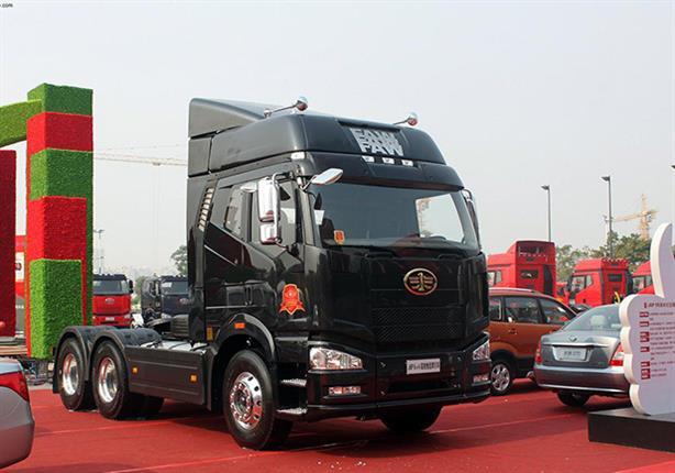 شركة صينية تطرح شاحنة ذاتية القيادة