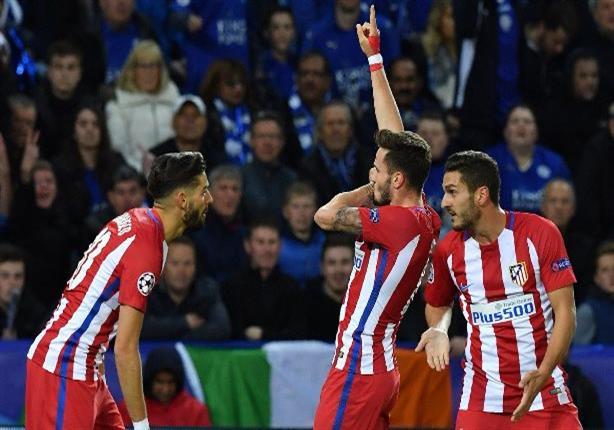 بالفيديو.. أتليتكو مدريد إلى نصف نهائي الأبطال على حساب ليستر سيتي