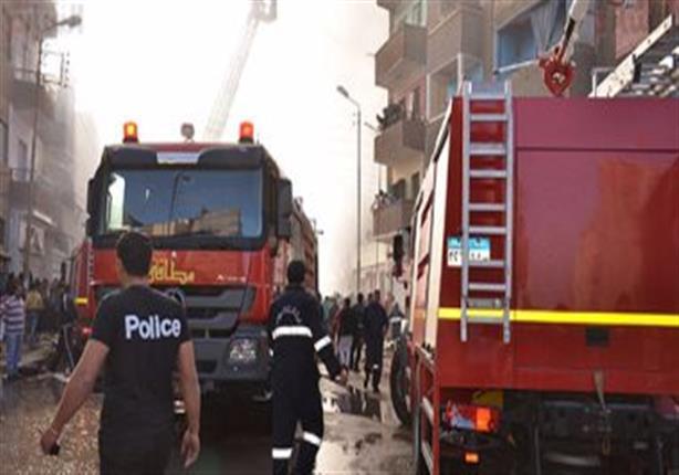 حريق محدود بمكتب تموين بولاق الدكرور