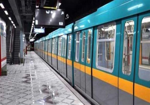 التحقيق في سقوط عربة قطار ورشة طره بالخط الأول في المترو