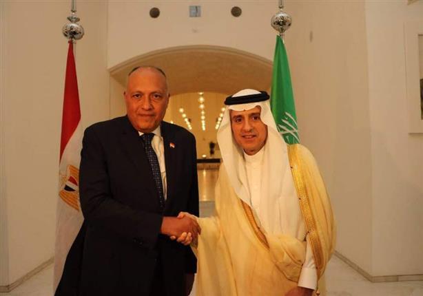 وزير الخارجية يجري محادثات سياسية مع نظيره السعودي