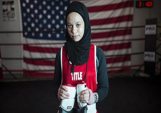 صاحبة الـ 16 عاما.. أول ملاكمة أمريكية محجبة