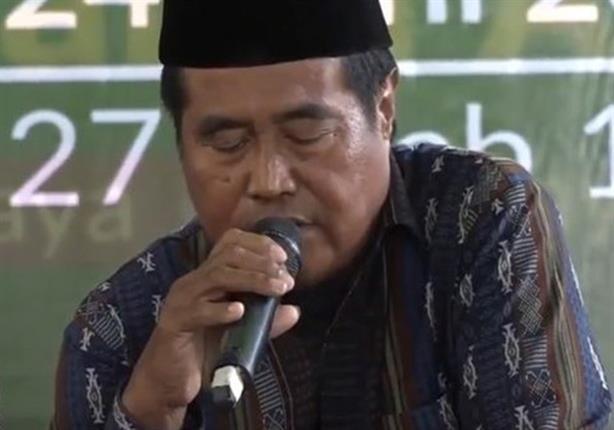 بالفيديو: وفاة أشهر قارئ القرآن بإندونيسيا أثناء تلاوته في حفل رسمي على الهواء