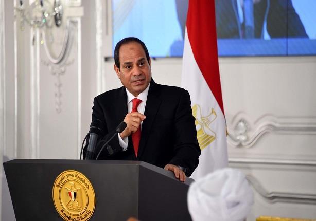 السيسي: الإرهاب يتواجد في 1% من مساحة سيناء