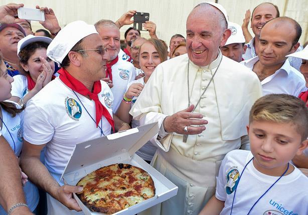 بالصور- تعرف على الأكلات المفضلة لبابا الفاتيكان