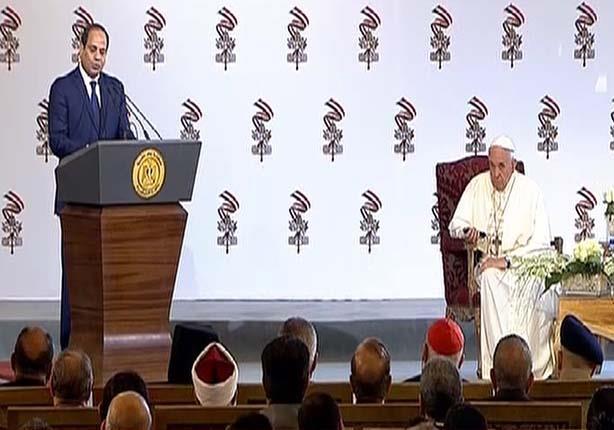 السيسي: مصر ستظل دائمًا ملاذًا آمنًا للجميع