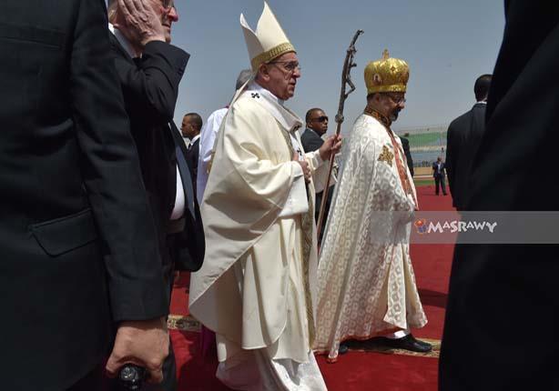 بعد مغادرته.. رسالة لم تنشر لبابا الفاتيكان في زيارته لمصر