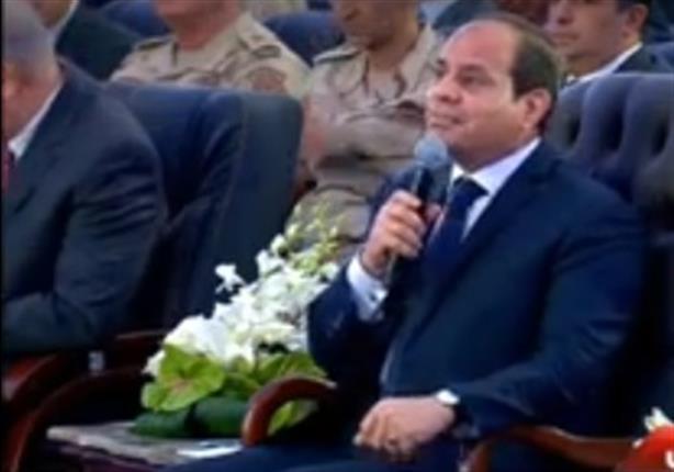 """الرئيس عبدالفتاح السيسى يفتتح كوبرى طهطا العلوى من قنا عبر """" الفيديو كونفرنس """""""