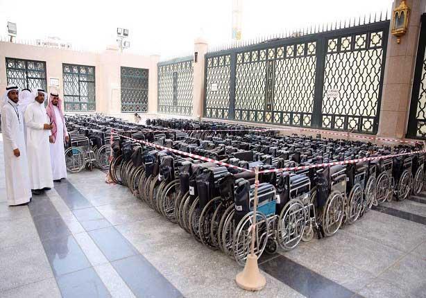3 آلاف عربة لذوي الاحتياجات في المسجد النبوي استعداداً لرمضان