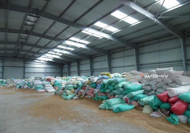 نائب محافظ الإسكندرية تتابع إجراءات توريد محصول القمح وتشوينه