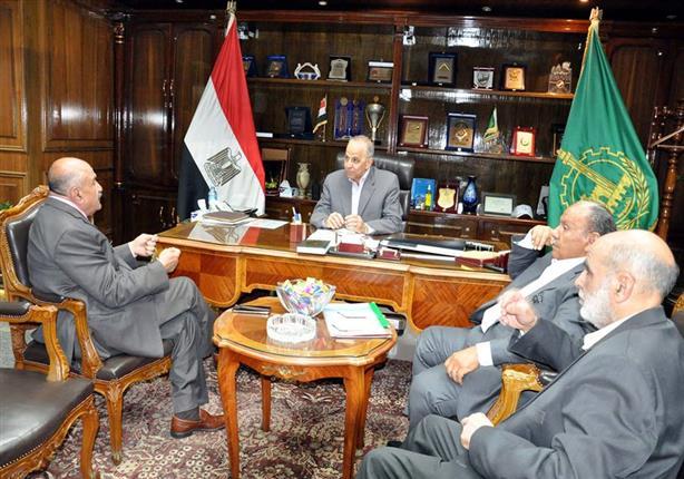 محافظ القليوبية يلتقي رئيس مجلس إدارة جمعية الأورمان