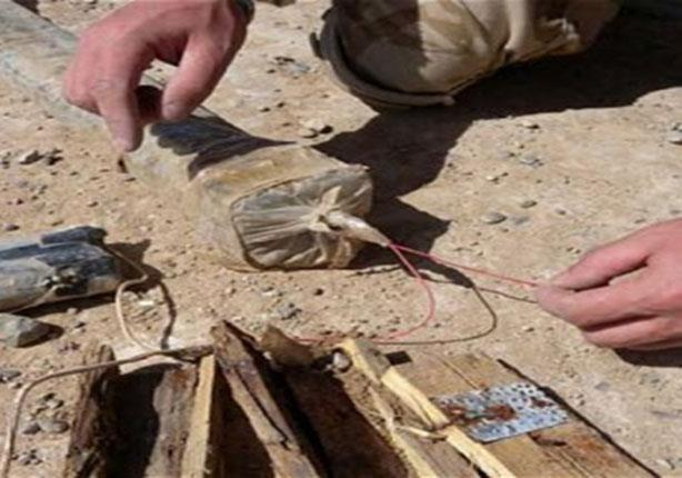 قوات الأمن تفكك عبوة شديدة الانفجار في العريش