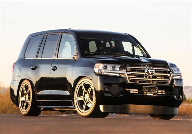 بالفيديو.. تويوتا لاند كروزر معدلة تحقق لقب أسرع سيارة SUV في العالم