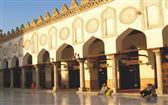 اكتشاف صهريج مياه أسفل صحن الجامع الأزهر خلال عملية ترميمه