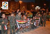 بالصور.. مسيرتان ووفقة لتأييد قوات الجيش والشرطة بالمنصورة