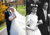 بالصور: فساتين الزفاف لأشهر الفنانات