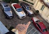 بالصور.. ثري عربي يمتلك أسطولاً من السيارات الثمينة