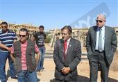 فودة يتفقد قرية التراث البدوي استعدادا لافتتاحها في العيد القومي لمحافظة جنوب سيناء
