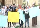 طالبات في جامعة القاهرة يطالبن بالتجنيد الاختياري للفتيات