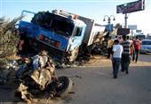 3 قتلى ومصابان في حادث تصادم بالمنيا