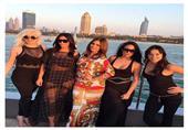 بالصور.. كيم كاردشيان في دبي للتسويق لـ ''فلور فاتال''