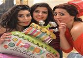 بالصور.. وفاء عامر تحتفل بعيد ميلاد شقيقتها آيتن عامر