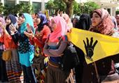 الأمن يُعيد فتح شارع مصطفى النحاس بعد قطعه من قبل طالبات الإخوان بالأزهر