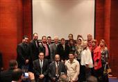 بالصور.. القنصلية الأمريكية بالإسكندرية تحتفل بتخرج 125 مصريا بمنحة تعليم الإنجليزية
