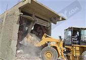 إزالة التعديات على رافد الطريق الدولي بكفر الشيخ